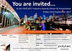 2017 FIAA Awards Night   Recognising Excellence in Your Industry.