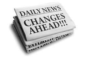 Changes Ahead News